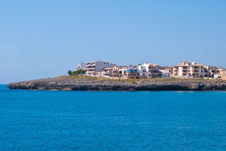 coma: Hotels and villas on Sa Coma cape, Majorca island, Spain