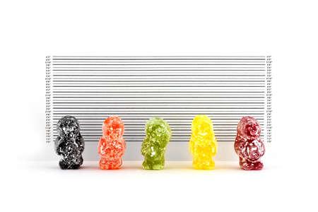 Jelly Bandits Stock Photo