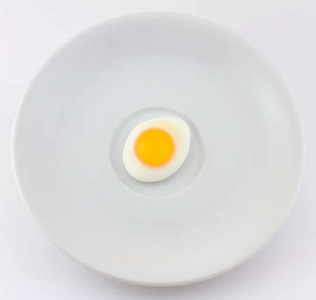 Fried Candy Egg on Saucer