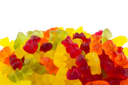 Heap of Gummy Bears Stock Photo
