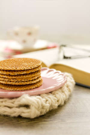 Part of a series on Dutch Syrup Waffles (Stroopwafels) and afternoon tea