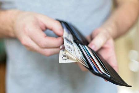 Series on money Standard-Bild