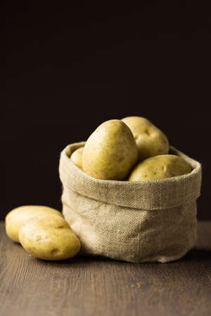 Series on baked potatoes Stock Photo
