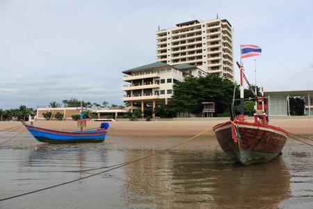 long weekend: Cha-am spiaggia in Tailandia