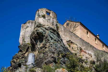 Citadel of Corte in Haute-Corse.