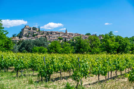 Ansouis, hilltop village of the Luberon in Vaucluse -France.