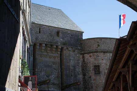 Mont Saint-Michel, Manche, Normandy, France.