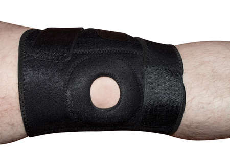 a foot bandage for the knee