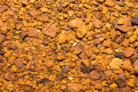 Background of chaga crushed for brewing. 写真素材