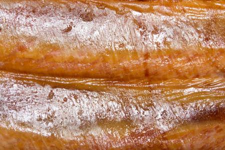 Smoked pork.Smoked pork ribs. Foto de archivo - 104185223