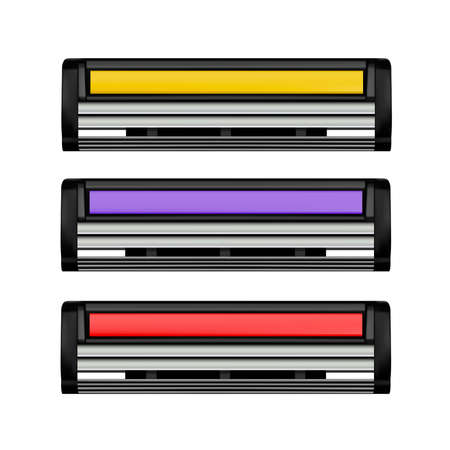 Shaving cassette in vector Ilustração