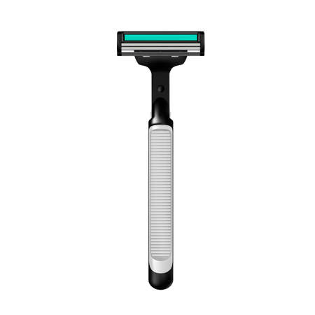Shaving machine vector illustration