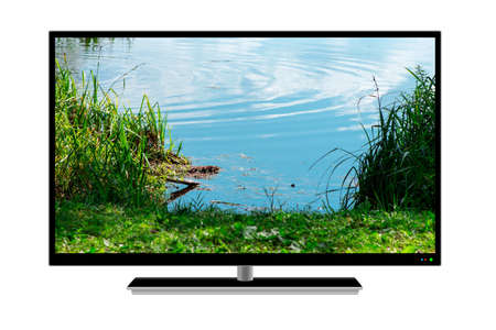 bright LCD TV with a bright beautiful picture