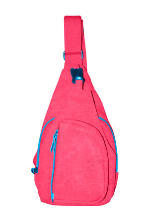 Small backpack with one strap.Compact crossbody bag. Imagens
