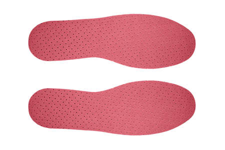 Orthotic insoles made of flavored latex. Stock Photo