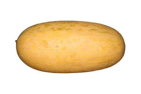 Melone lokalisiert auf weißem Hintergrund.