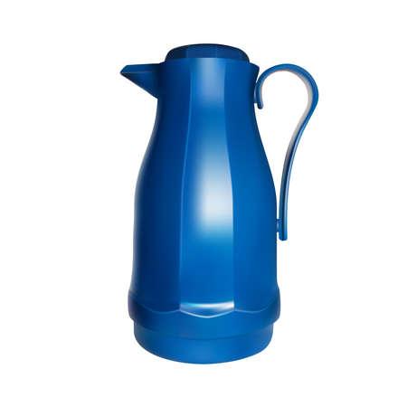 Blue plastic carafe Ilustrace