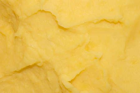 Mashed potatoes.Background of mashed potatoes. Banco de Imagens