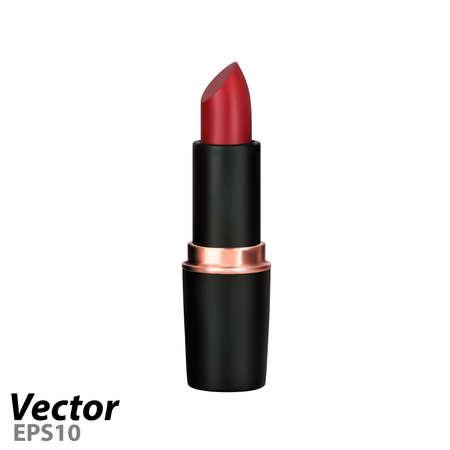 Lipstick.Women's lipstick in vector.Photorealistic lipstick.
