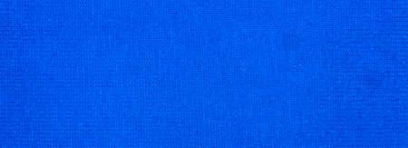 Blue dense fabric texture. Blue bright fabric background. Foto de archivo - 150127284