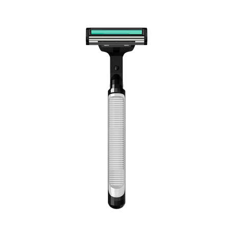 Shaving machine in vector on  white