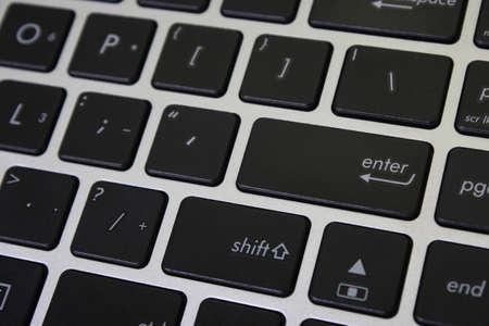 1 object: Laptop Keyboard Close Up