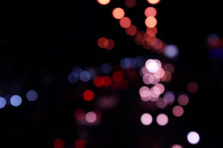 Real Light Bokeh abstract background photo