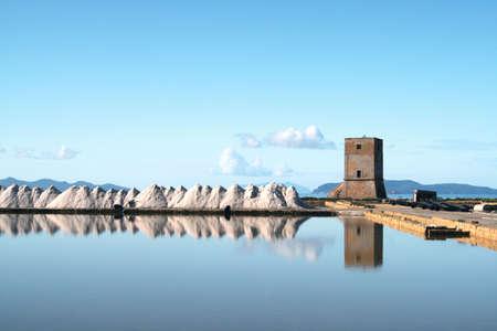 trapani: Saline e torre di Nubia - Trapani