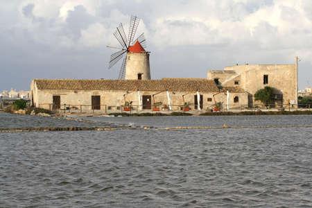 trapani: Salt flats - Trapani