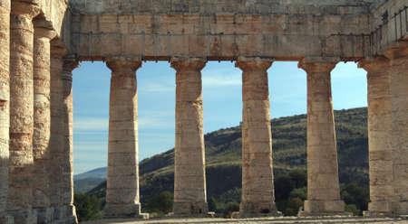 Temple Segesta Stock Photo - 6408789