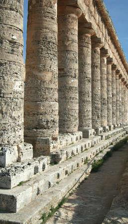 Segesta columns Stock Photo - 6408797