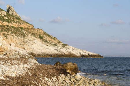 egadi: Punta Pesce  (Levanzo) - Egadi islands Stock Photo
