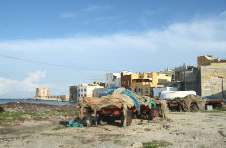 ligne: Trapani fishing port