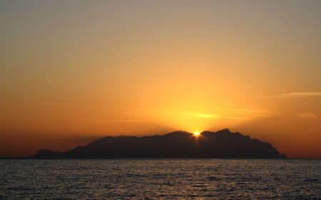 egadi: Marettimo by night - Egadi islands