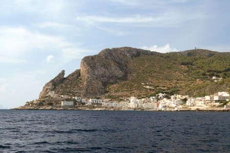 egadi: Levanzo - Egadi islands Stock Photo