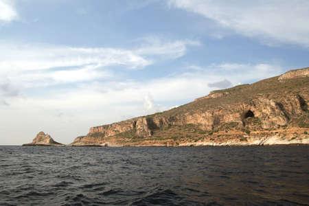 egadi: Faraglione - Egadi islands