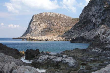 egadi: Puntazza Calcara - Egadi islands Stock Photo