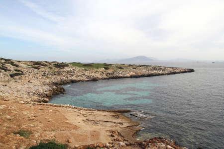 egadi: Cala Minnola - Levanzo Egadi islands Stock Photo