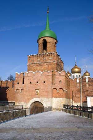 Tula kremlin sky day old Stock Photo - 4880905