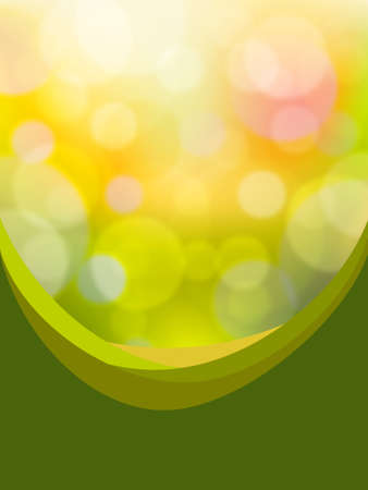 Green bokeh abstract light Stock Vector - 7675478