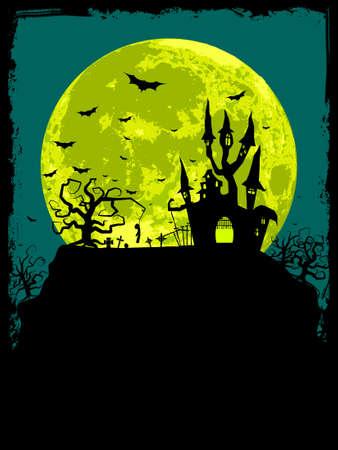 Halloween poster sfondo.