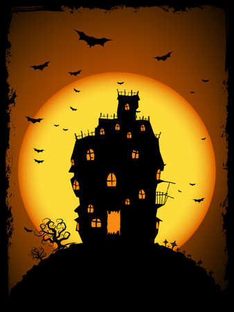 Halloween illustration. Edit the colors as you want. Stock Vector - 7805850