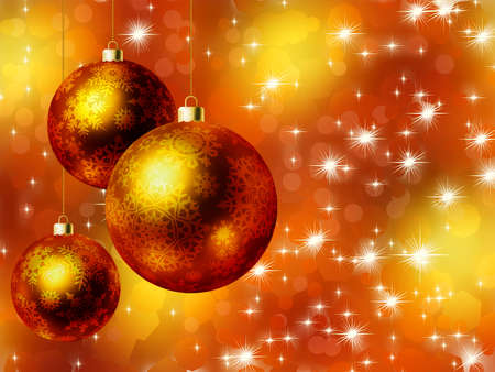 elegant christmas: Elegant christmas card. EPS8 Stock Photo