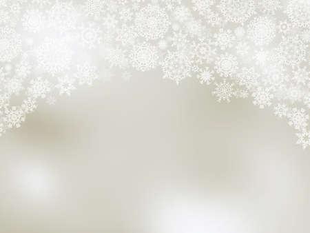 snoflake: Elegant christmas background with snowflakes.