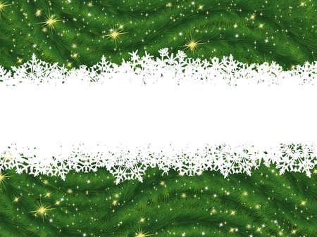 Christmas background with copyspace.  Stock Photo - 8315258