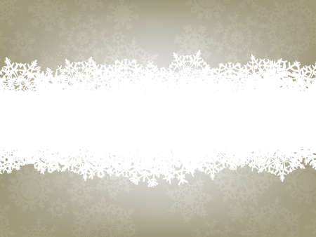 Christmas background with copyspace. Vector