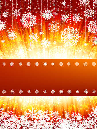 Bright new year and christmas card template.  photo