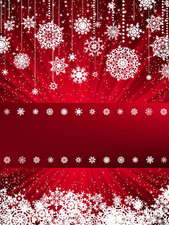 cristmas card: Bright new year and cristmas card template. EPS 8 vector file included
