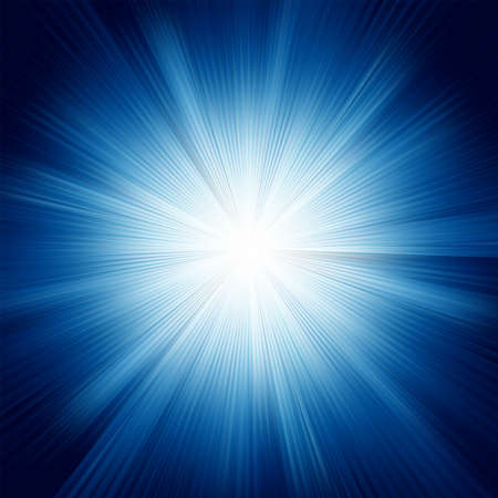 light beams: A Blue color design with a burst. EPS 8 vector file included