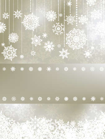 Christmas background with copyspace. EPS 8 vector file included Stock Vector - 8362297